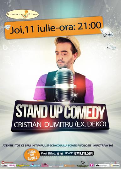 stand up cristian dumitru galati 2013