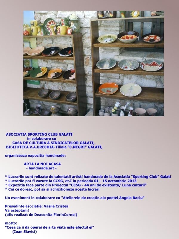 Sporting-afis-handmade
