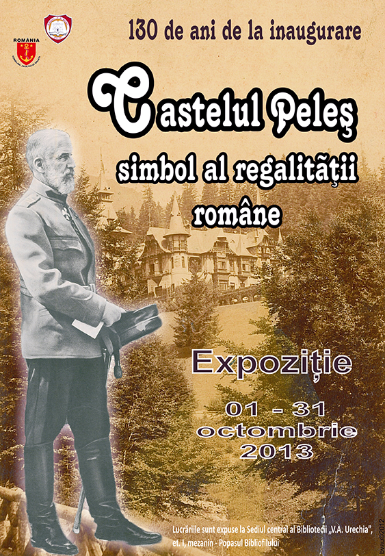 afis-castelul-peles-biblioteca-va-urechia