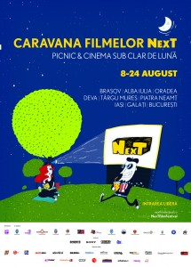 Afis CARAVANA Filmelor NexT