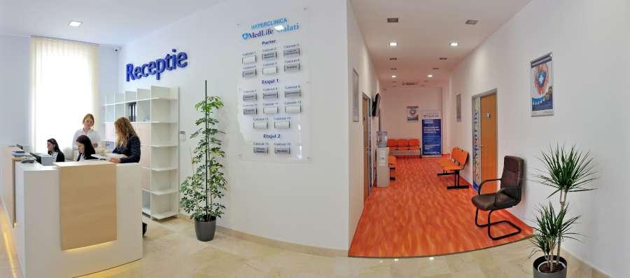 Hyperclinica MedLife Galati interior