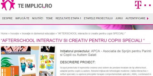 APCA proiect