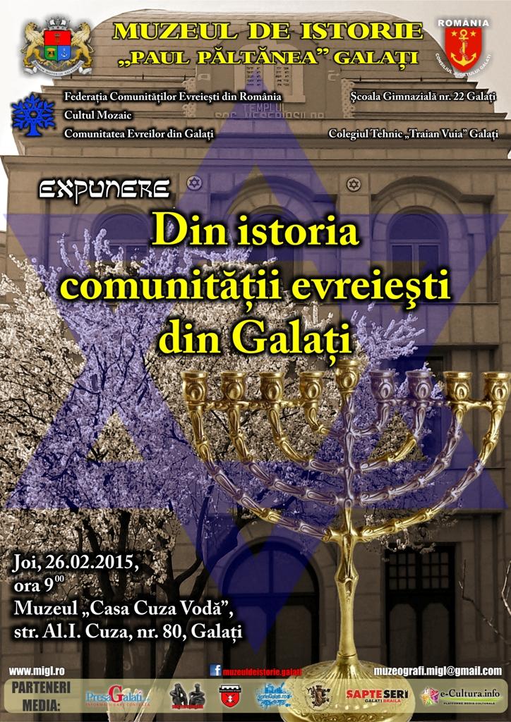 Afis Istoria evreilor