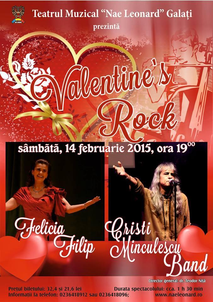 Valentine's Rock 14 februarie