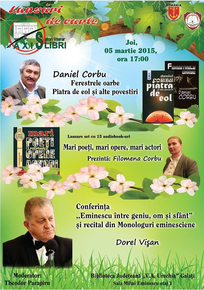 axis libri 5 martie galati
