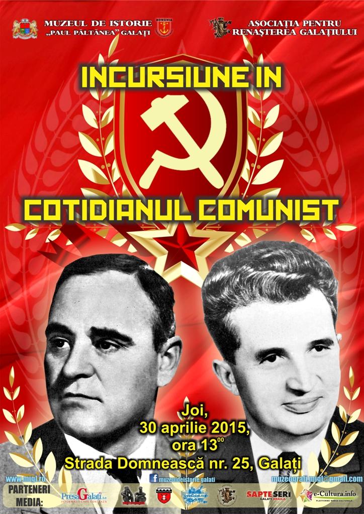 expozitie incursiuni in cotidianul comunist