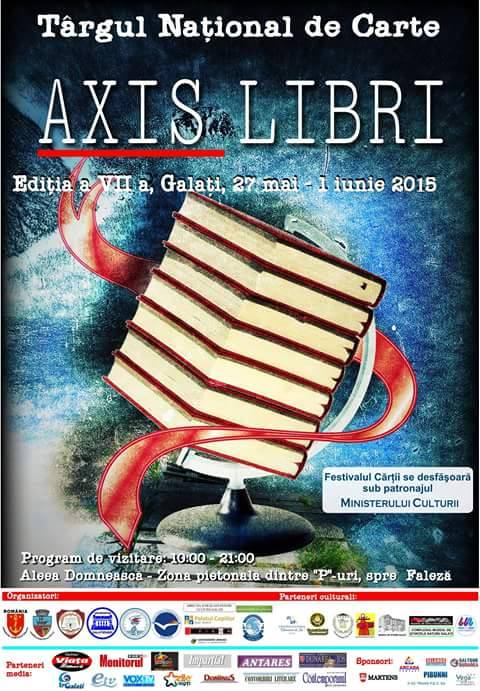 festivalul axis libri 2015 galati