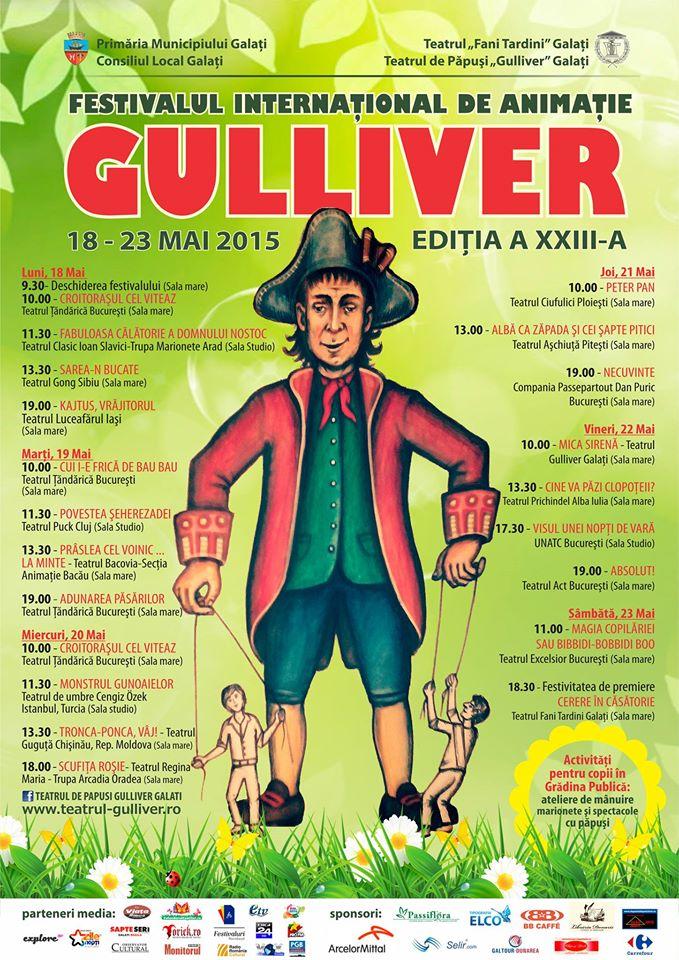 festivalul gulliver 2015 galati